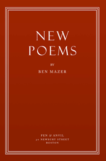 New Poems by Ben Mazer